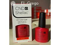 CND SHELLAC NAIL POLISH 100% AUTHENTIC