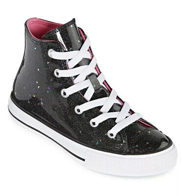 New Converse Chuck Taylor All Star Galaxy Glimmer Sneaker Girls Size 3