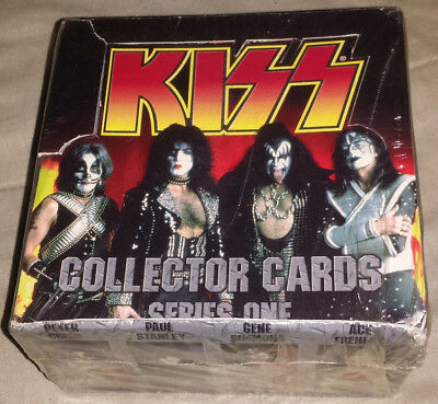 Kiss: cards full sealed box 1998 serise one conerstone