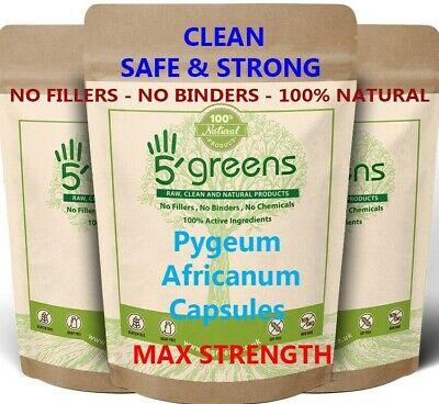 Pygeum Africanum 4000mg Veg Capsules - Best Pygeum Africanum Guaranteed 5greens