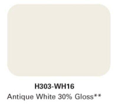 Antiquw White Powder Coating Prismatic Powders Single Coat 1lb