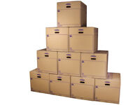 Removal boxes large x 10 (free first come first served)