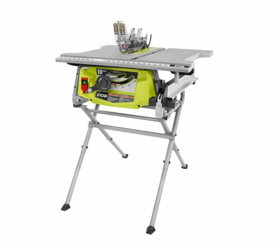 Sale Off !! Ryobi 15 Amp 10 in. Table Saw with Folding Stand