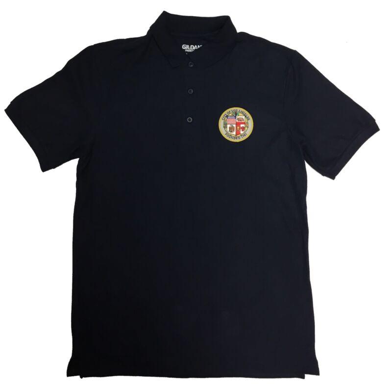 City Of Los Angeles Polo Navy Short Sleeve XL