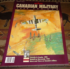 Canadian Military Then and Now Esprit de Corps 1994 Vol 4 Iss 1
