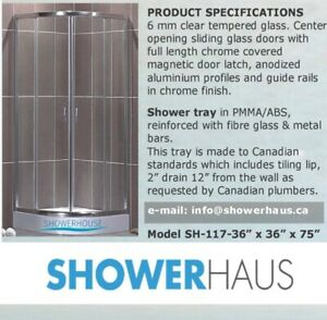Glass  Shower  Enclosure,  Corner Shower Stalls…  Only $ 399.00