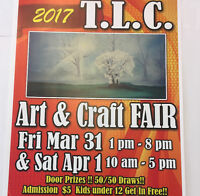TLC Art & Craft Fair Spring 2017!