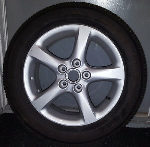 "*ONE ONLY* New All season 16"" Tire with Nissan Rim"