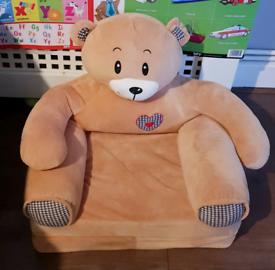Toddler/infant/baby Teddy Bear Armchair/sofa/lounger,age 1-3' Years