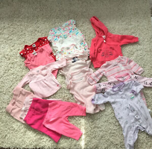 Baby Girl Clothes 0 to 3 Months 3 to 6 Months