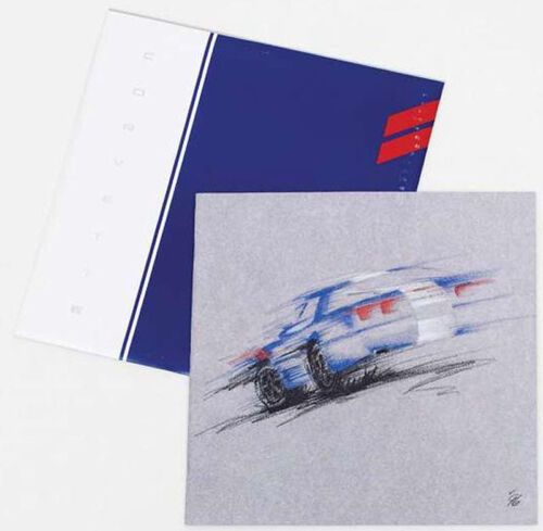 C4 1996 Corvette Dealer Brochure - BRAND NEW!