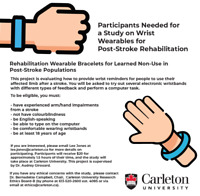 Searching for post-stroke research participants