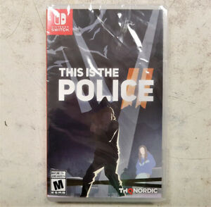 This is the Police II Switch Game - NEW