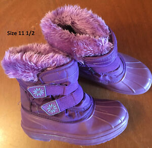 Size 11 - 13 Winter boots - Girls London Ontario image 2