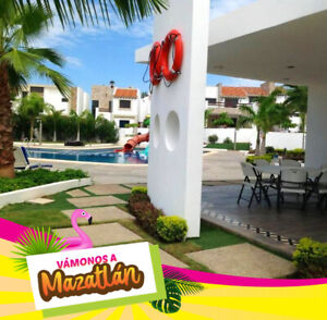 Apartment for rent in beach Mazatlan Mexico