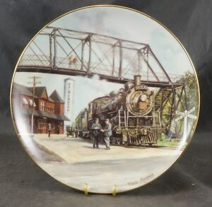 PLATE PALMERSTON BY ARTIST TED XARAS LIMITED EDITION