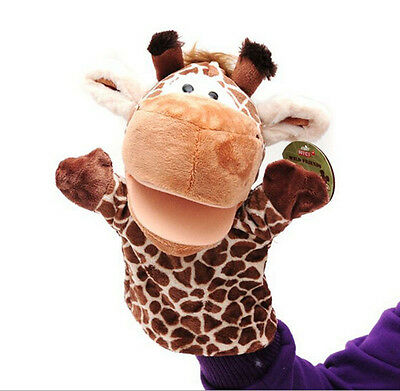 1pcs Giraffe Toys Holiday Animal Puppet Kids Love Hand Puppet QY