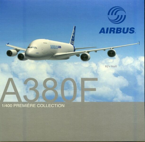 RARE Airbus A380F 1:400 Die-Cast Scale Model #55826 from Dragon Wings