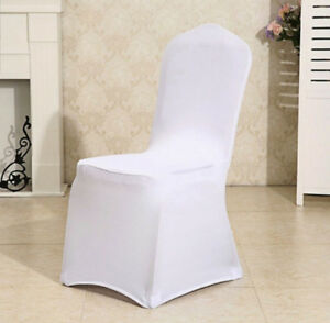 13 Chair Covers - Used For Head Table