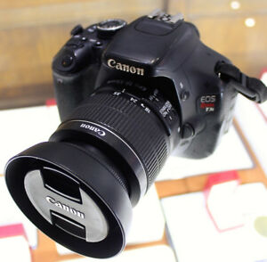 CANON EOS REBEL T3i CAMERA/LENS