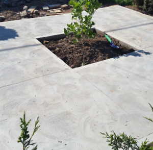 Beautiful concrete work! Great prices!