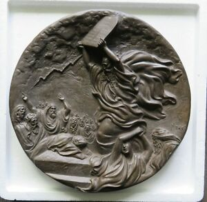 Moses and the Ten Commandments Collector Plate