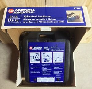 Sandblaster - 30-Pound Capacity - Campbell Hausfeld AT1251 Cambridge Kitchener Area image 1