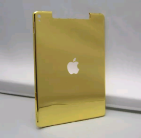 Gold plated ipad and other items for Christmas