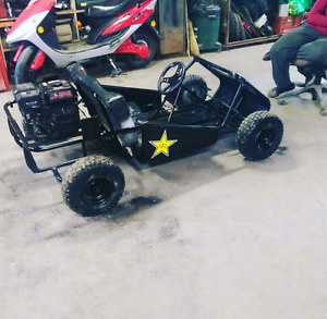 Selling go cart runs great needs nothing