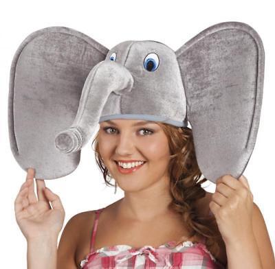 tüm Elefantenmütze Elefantenhut Hut Mütze Kappe Party Kostüm (Elefant Hut)