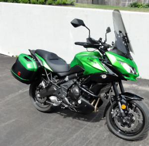 2015 Versys 650 with only 3000 kms.