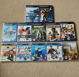 Large PS2 and PS3 Games Bundle Joblot