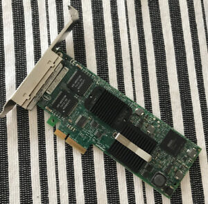 Dell Intel Gigabit VT Quad Port Ethernet PCI Express PCIe Adapte