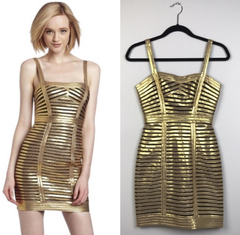 BCBG GOLD COCKTAIL PARTY DRESS BRAND NEW $50 ONLY | Women\'s ...