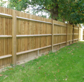 6 x 6ft 6inch high wood fence panels brand new