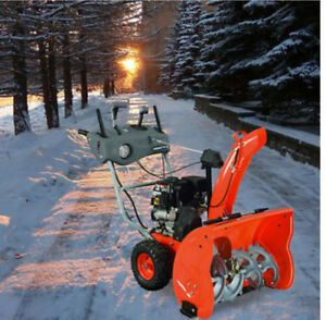 26 in. Two-Stage Electric Start Gas Snow Blower with Dashboard