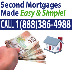 2nd MORTGAGE- SECOND MORTGAGE-ALL SITUATIONS APPROVED. NO CREDIT
