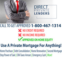 DIRECT PRIVATE LENDER -- FIRST  & SECOND MORTGAGE --FAST CLOSING