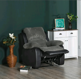 Rousselle Manual Recliner (GREY)