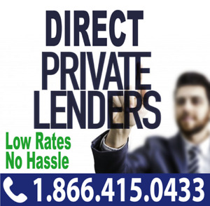 DIRECT PRIVATE LENDERS FOR PRIVATE MORTGAGE IN ONTARIO – OFFERS