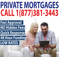PRIVATE 1ST MORTGAGE-2ND MORTGAGE-GOOD OR BAD CREDIT? NO PROBLEM