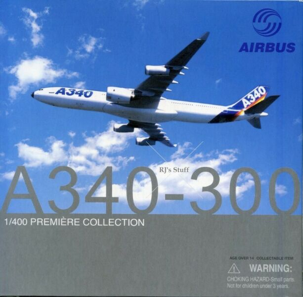 RARE Airbus A340-300 Special Version (Trent 900) 1:400 Die-Cast Scale Model #55729 from Dragon Wings