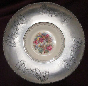 Vintage Wrought Farberware Tray&Bowl w/ Triumph Limoges Plate w/ Stratford Kitchener Area image 3