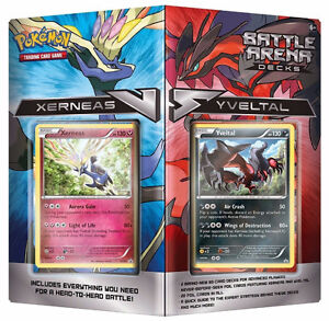 POKEMON TCG Trading Cards BATTLE ARENA DECK Place Vertu KAYY'S