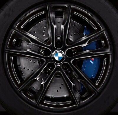 "BMW OEM F85 X5 M F86 X6 M Style 611 Black M Double Spoke 20"" Wheel Set Of 4 New"
