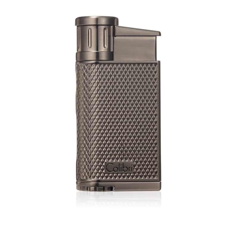 NEW Colibri Evo Single Angled Jet Flame Cigar Lighter in Gun