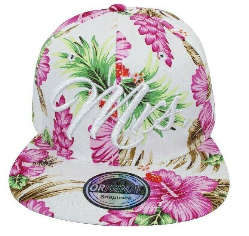 Cappy Kappe Cap Basecap Damen Damenkappe Mütze Freizeit Hut MRS Hawaii pink