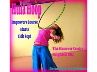 Hula Hoop - Improvers 6 week course starts Tuesday 13th September
