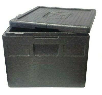 Thermobox 41 x 41 x 33 cm 32 Liter Kühlbox Transportbox Pizzabox EPP - Pizza Box