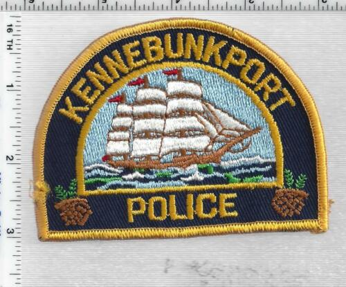 Kennebunkport Police (Maine) 2nd Issue Shoulder Patch